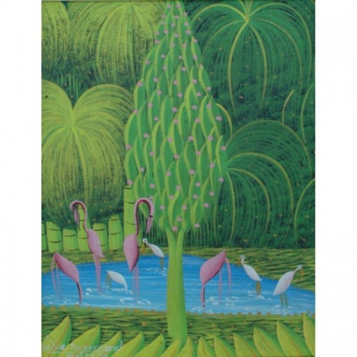 The Four Flamingos