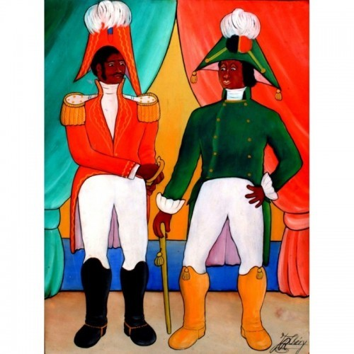 The assasination of Dessalines