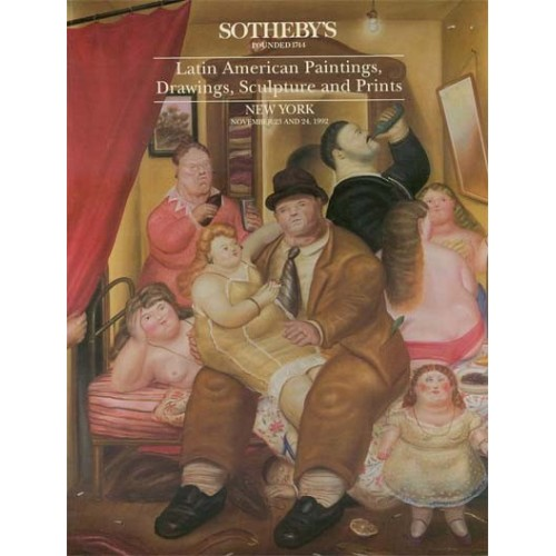 Christie's Important Latin American Paintings, Drawings and Sculpture 11/24/92