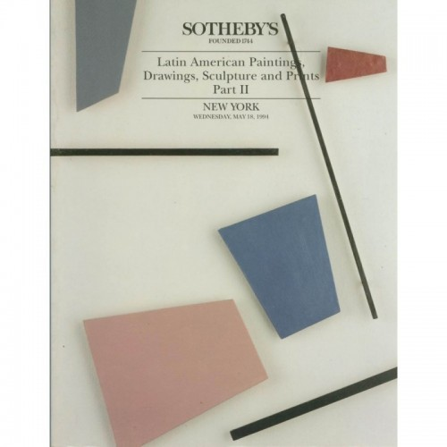 Sotheby's Latin American Paintings, Drawings, Sculpture and Prints New York 05/19/94