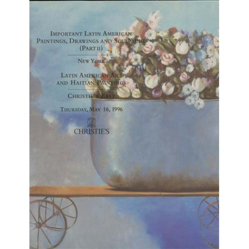 Christie's Important Latin American Paintings, Drawings and Sculpture (Part II) New York 5/16/96