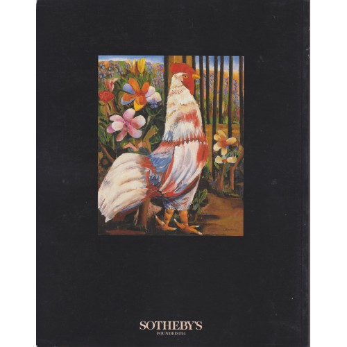 Sotheby's Latin American Paintings, Drawings, Sculpture and Prints New York 11/22/93