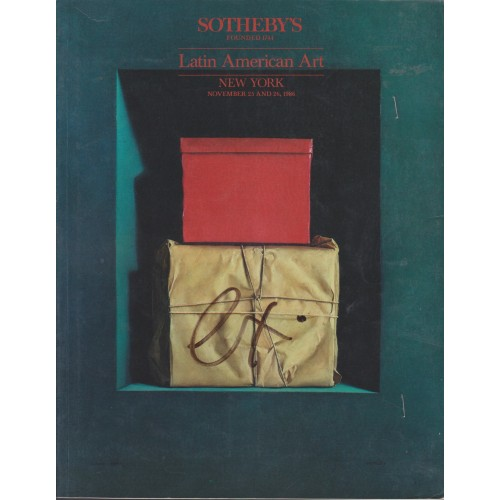 Sotheby's Latin American Art New York 11/25/86