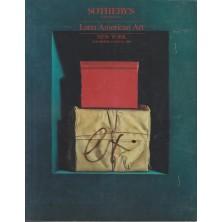 Sotheby's Latin American Art New York 11/25/86